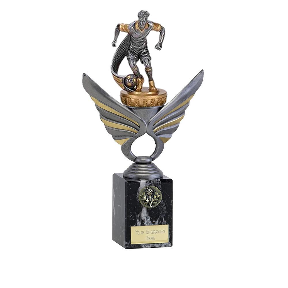 24cm Football Figure On Pegasus Award
