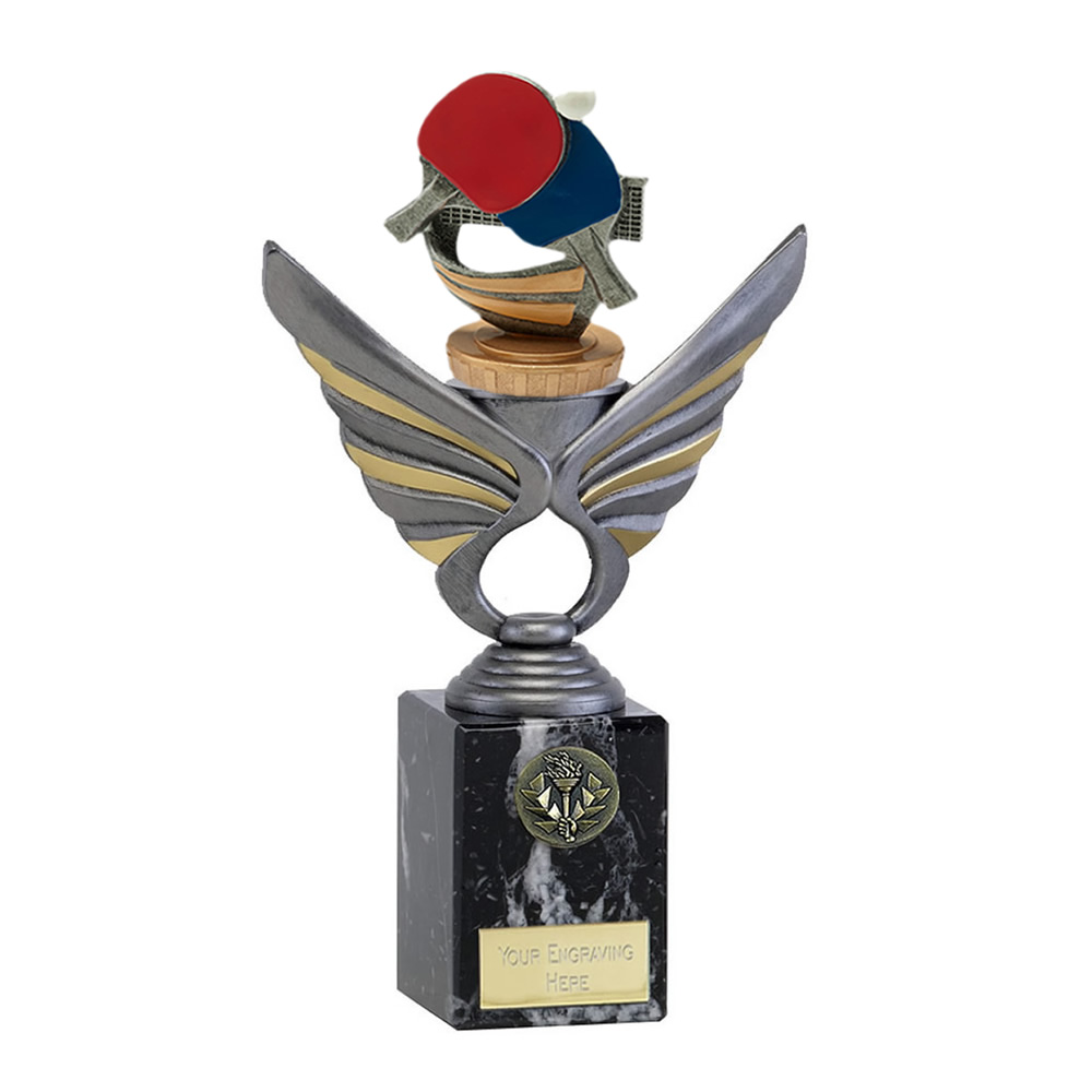 24cm Table Tennis Figure on Table Tennis Pegasus Award