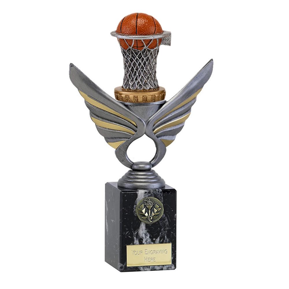 24cm Basketball Figure on Basketball Pegasus Award