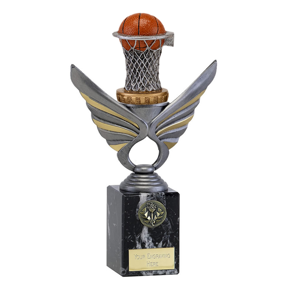 24cm basketball figure on Pegasus Award