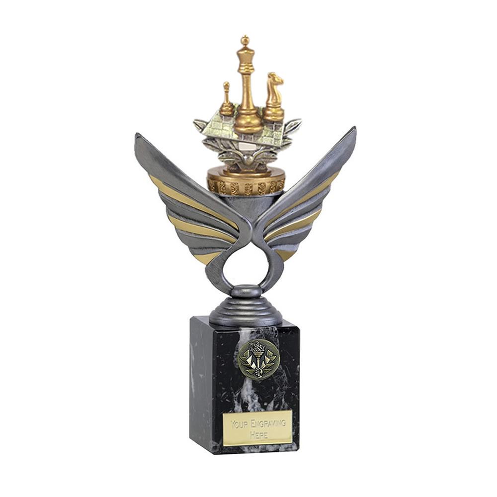 24cm Chess Figure On Pegasus Award