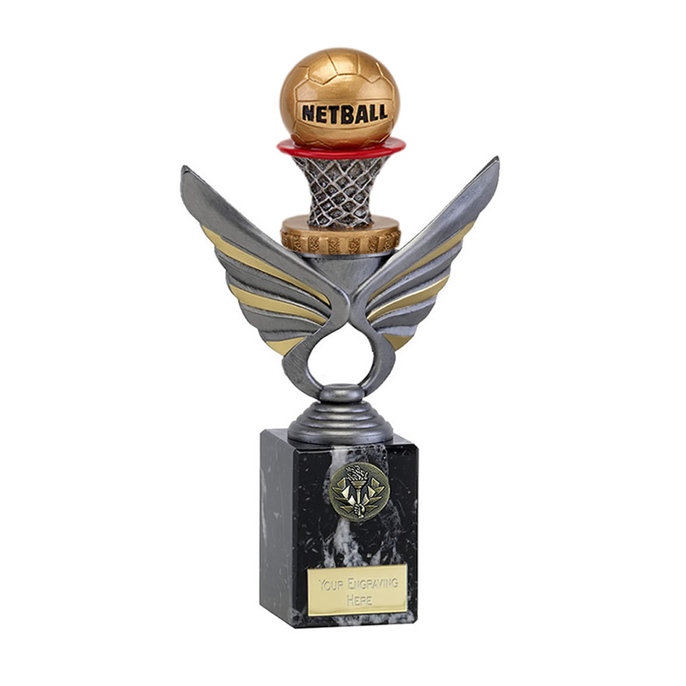 24cm Netball Figure on Netball Pegasus Award