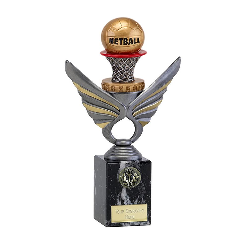 24cm Netball Figure on Netball Pegasus Award