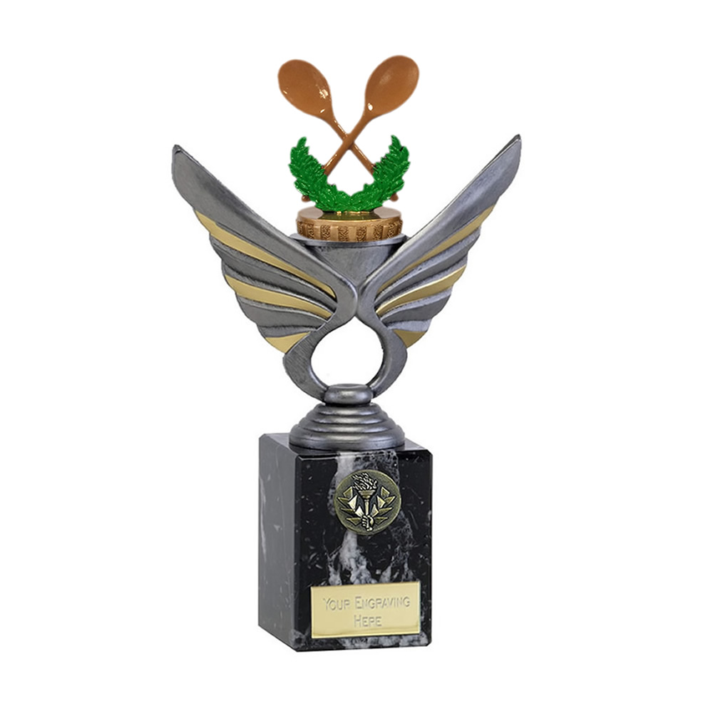 24cm Wooden Spoon Figure on Pegasus Award