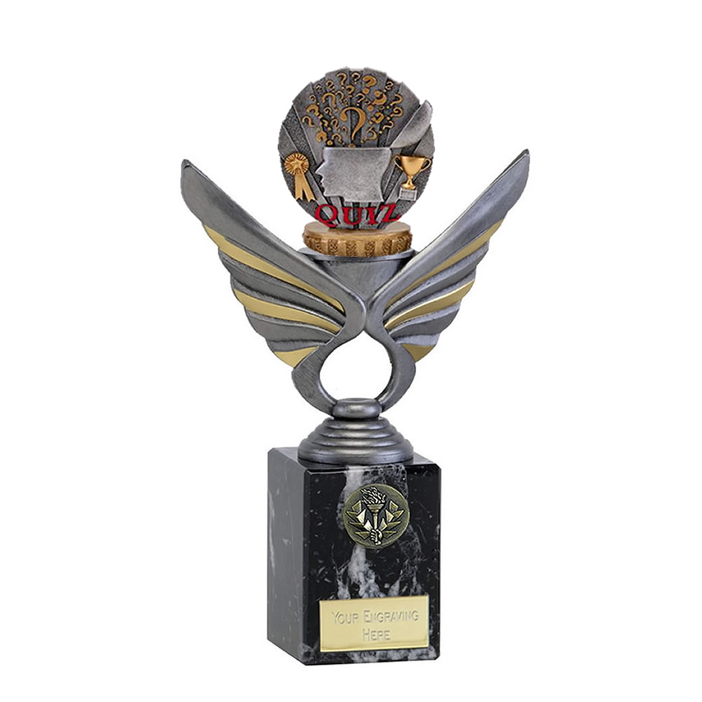 24cm Quiz Figure On School Pegasus Award