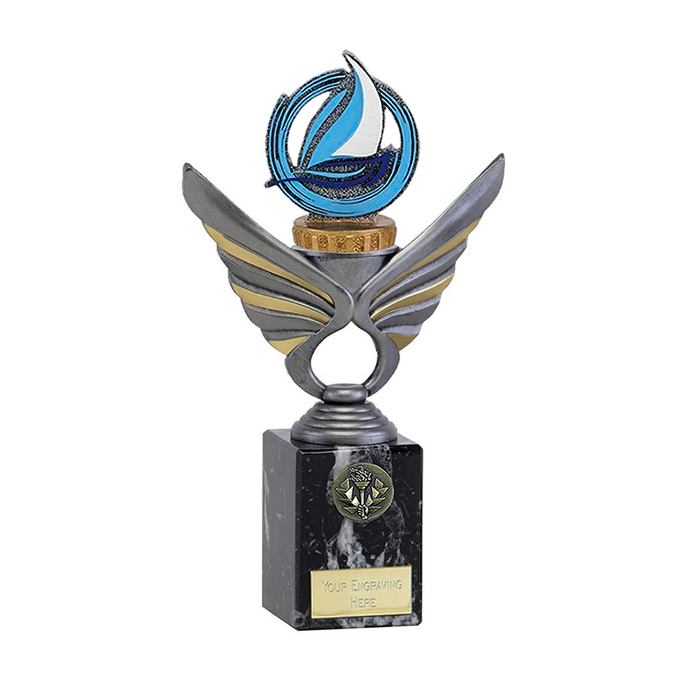 24cm sailing figure on Pegasus Award