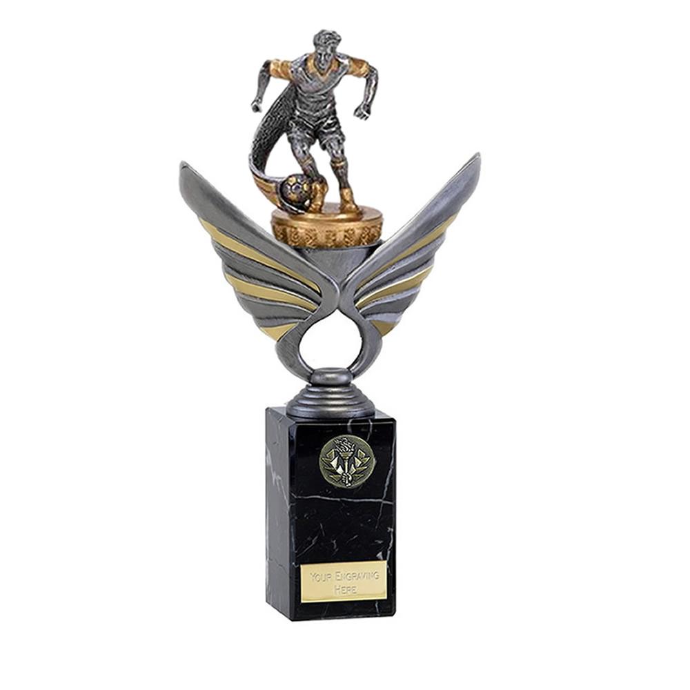26cm Football Figure On Pegasus Award