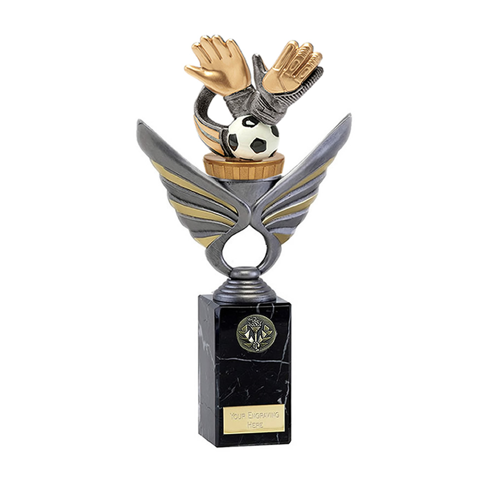 26cm Keeper Glove Figure on Football Pegasus Award