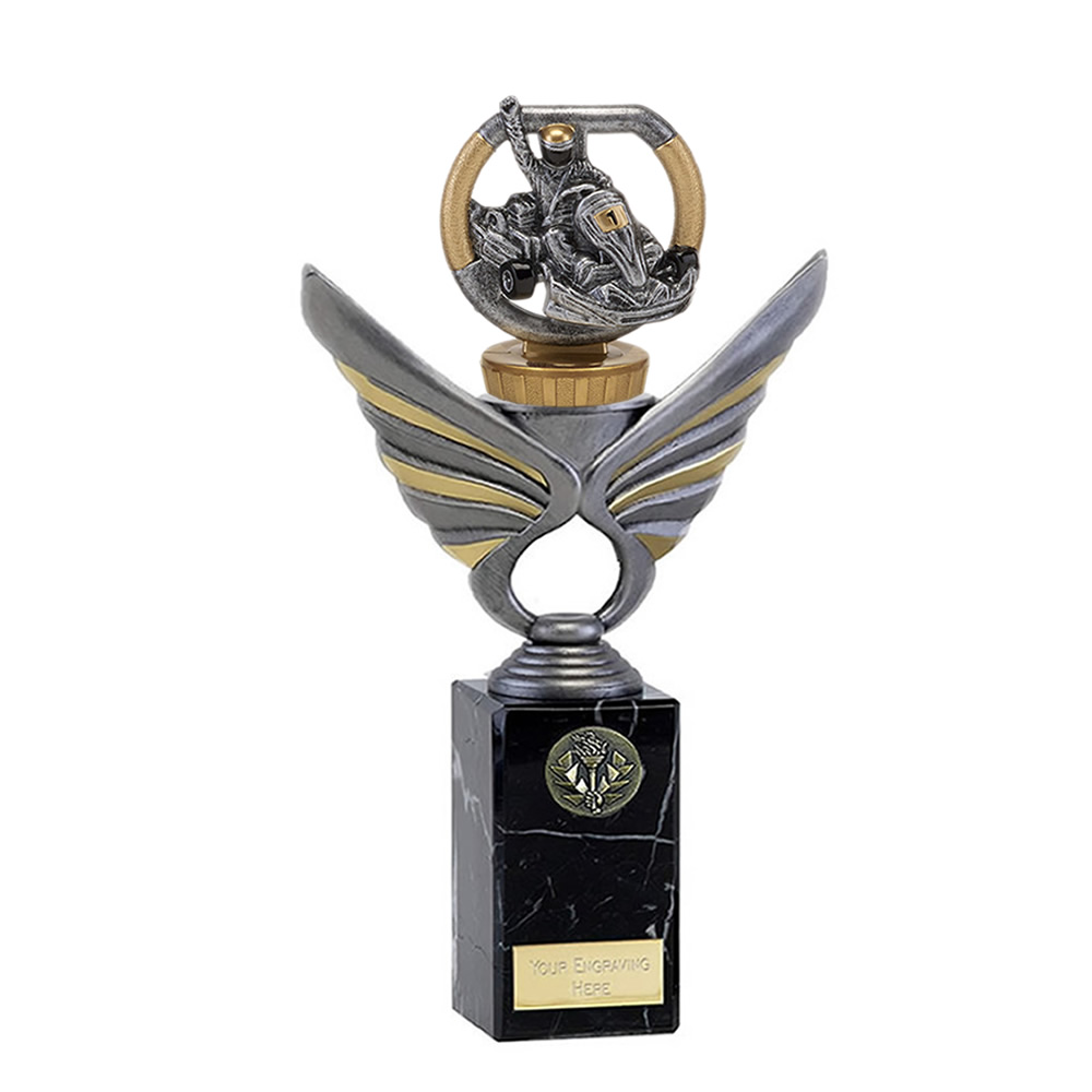 26cm Go-Kart Figure On Motorsports Pegasus Award