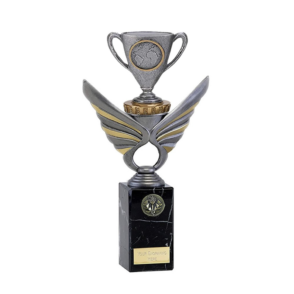 26cm Cup With Centre Figure On Pegasus Award