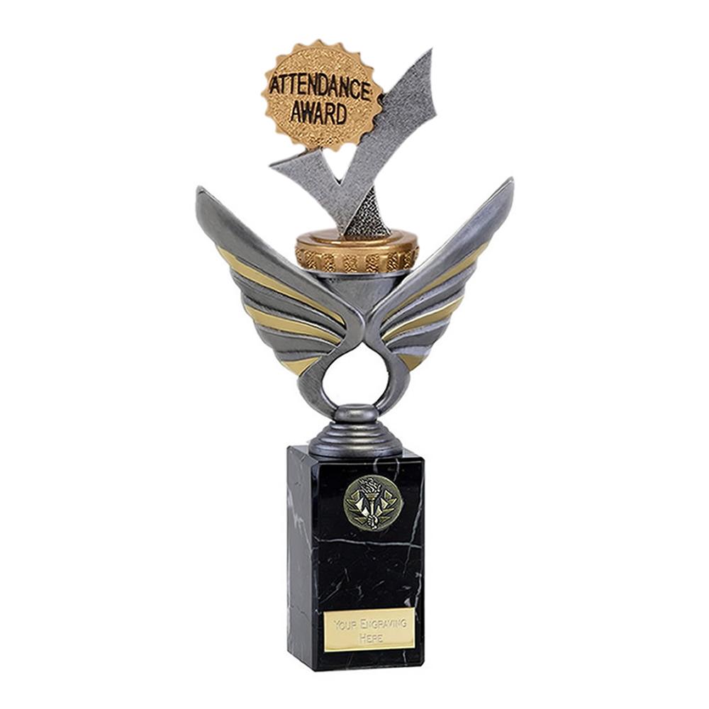 26cm Attendance Figure on School Pegasus Award