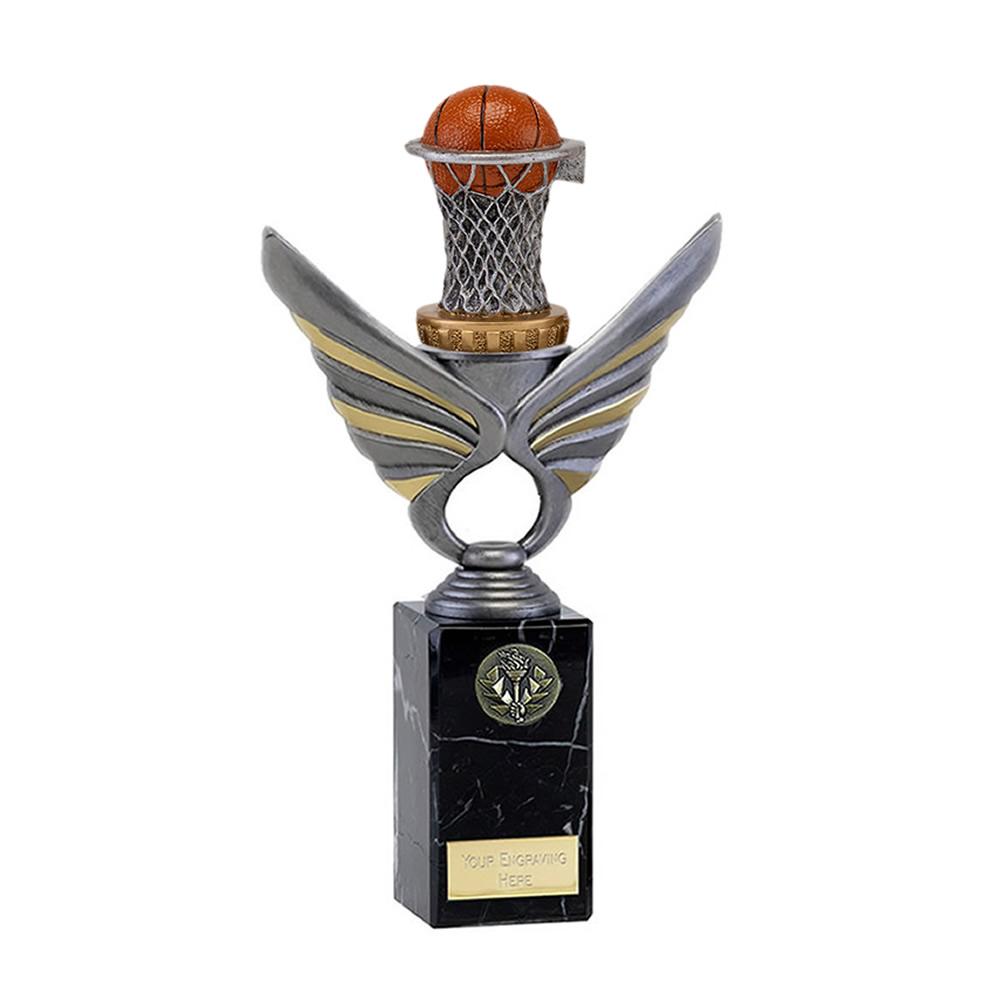 26cm Basketball Figure on Basketball Pegasus Award