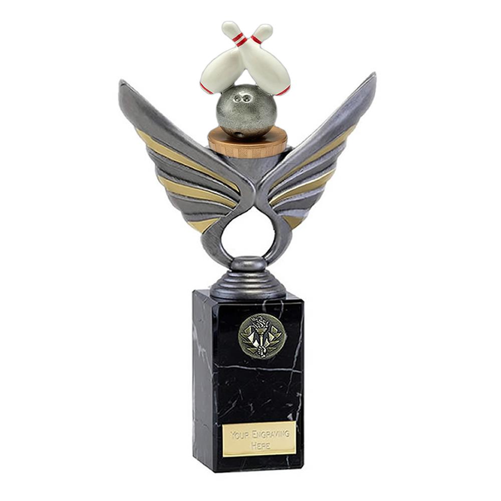 26cm Ten Pin Bowling Figure on Pegasus Award