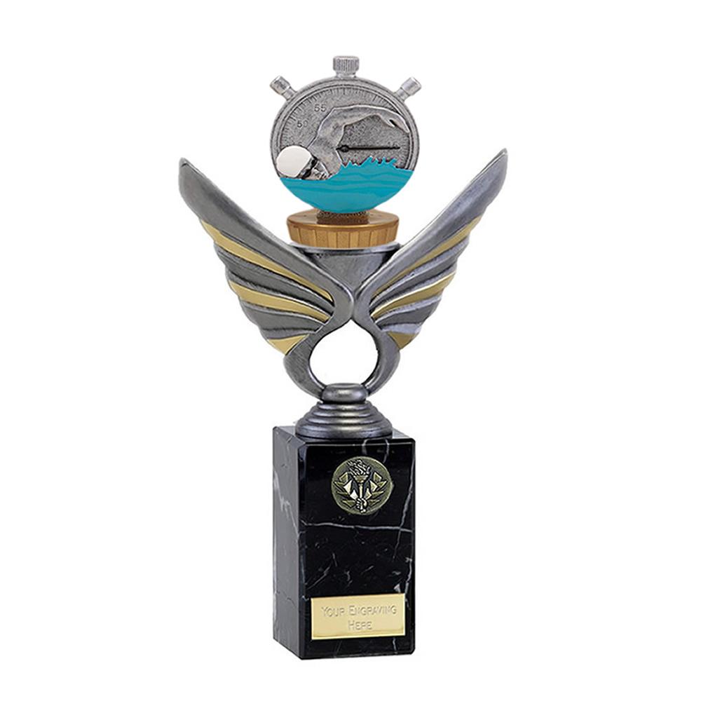 26cm Swimming Figure on Swimming Pegasus Award