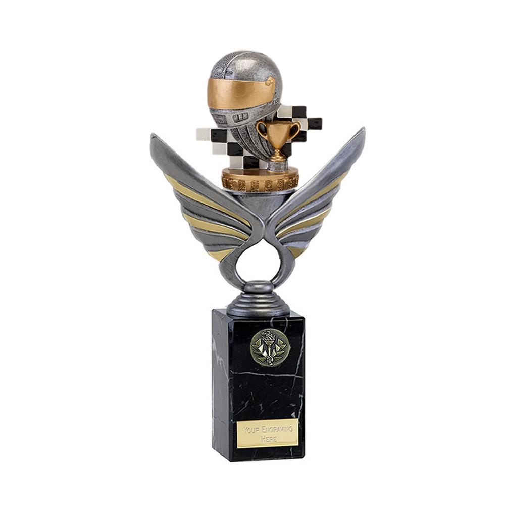 26cm Motorsports Neutral Figure On Pegasus Award