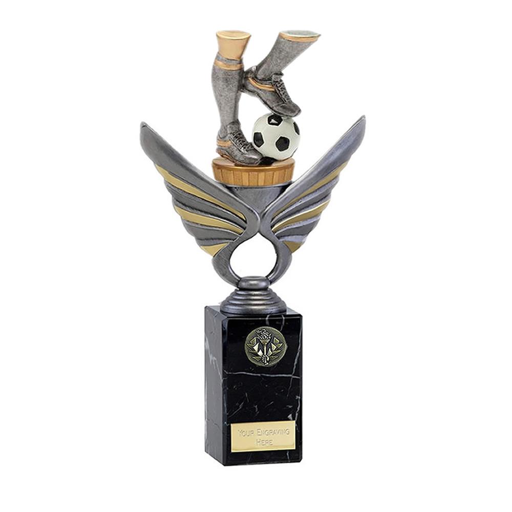 26cm Football Legs Figure on Football Pegasus Award