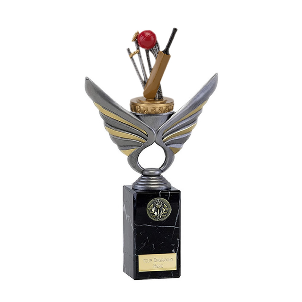 26cm Cricket Figure On Cricket Pegasus Award