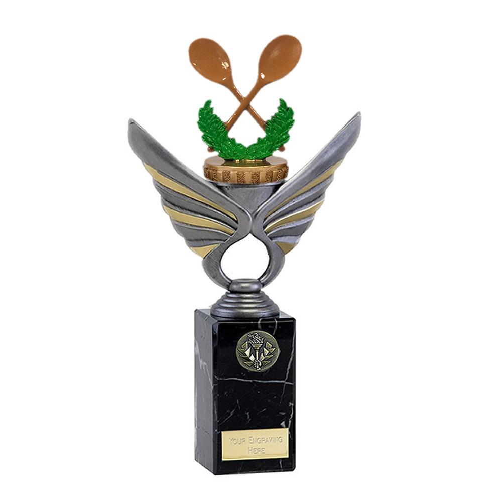 26cm Wooden Spoon Figure on Pegasus Award