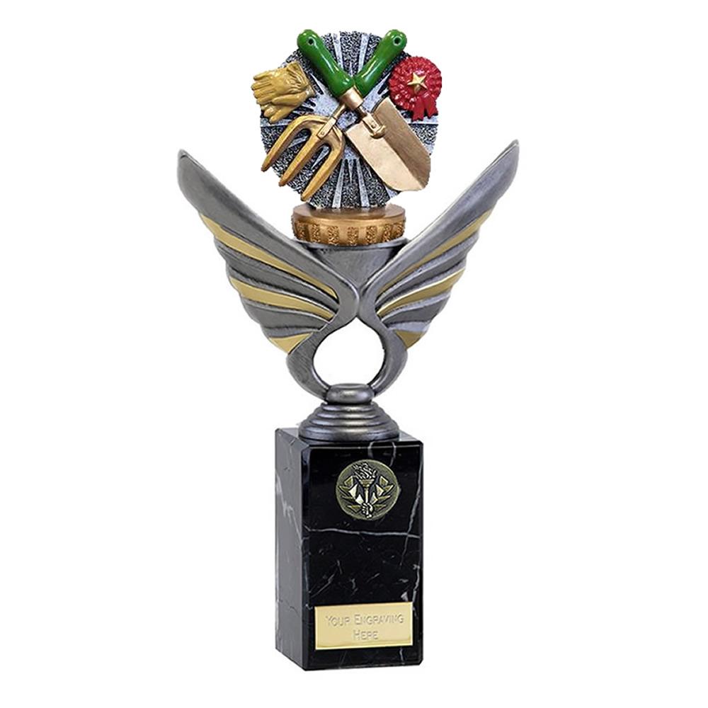 26cm Gardening Figure on Gardening Pegasus Award