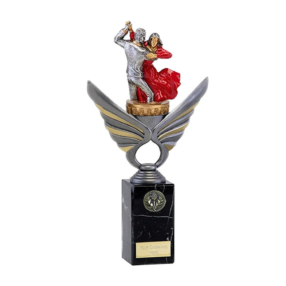 26cm Ballroom Dancing Figure On Dance Pegasus Award