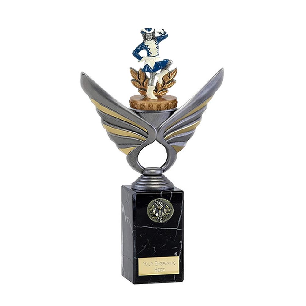 26cm Majorette Figure on Music Pegasus Award