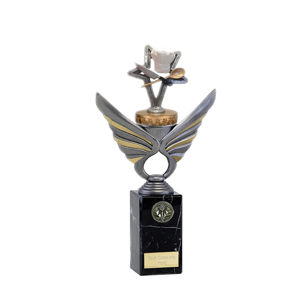 26cm Cookery Figure on School Pegasus Award