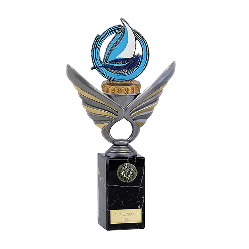 26cm sailing figure on Pegasus Award