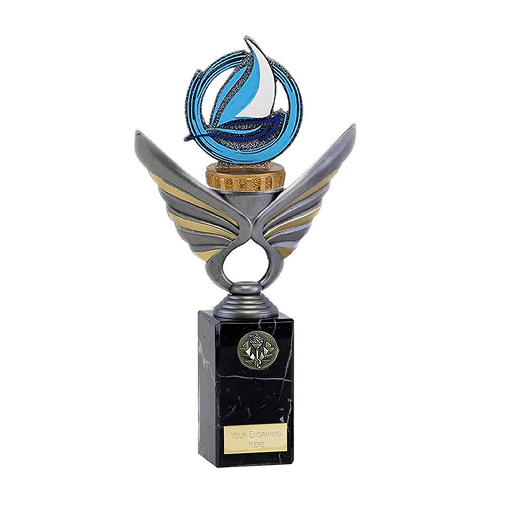 26cm Sailing Figure on Sailing Pegasus Award