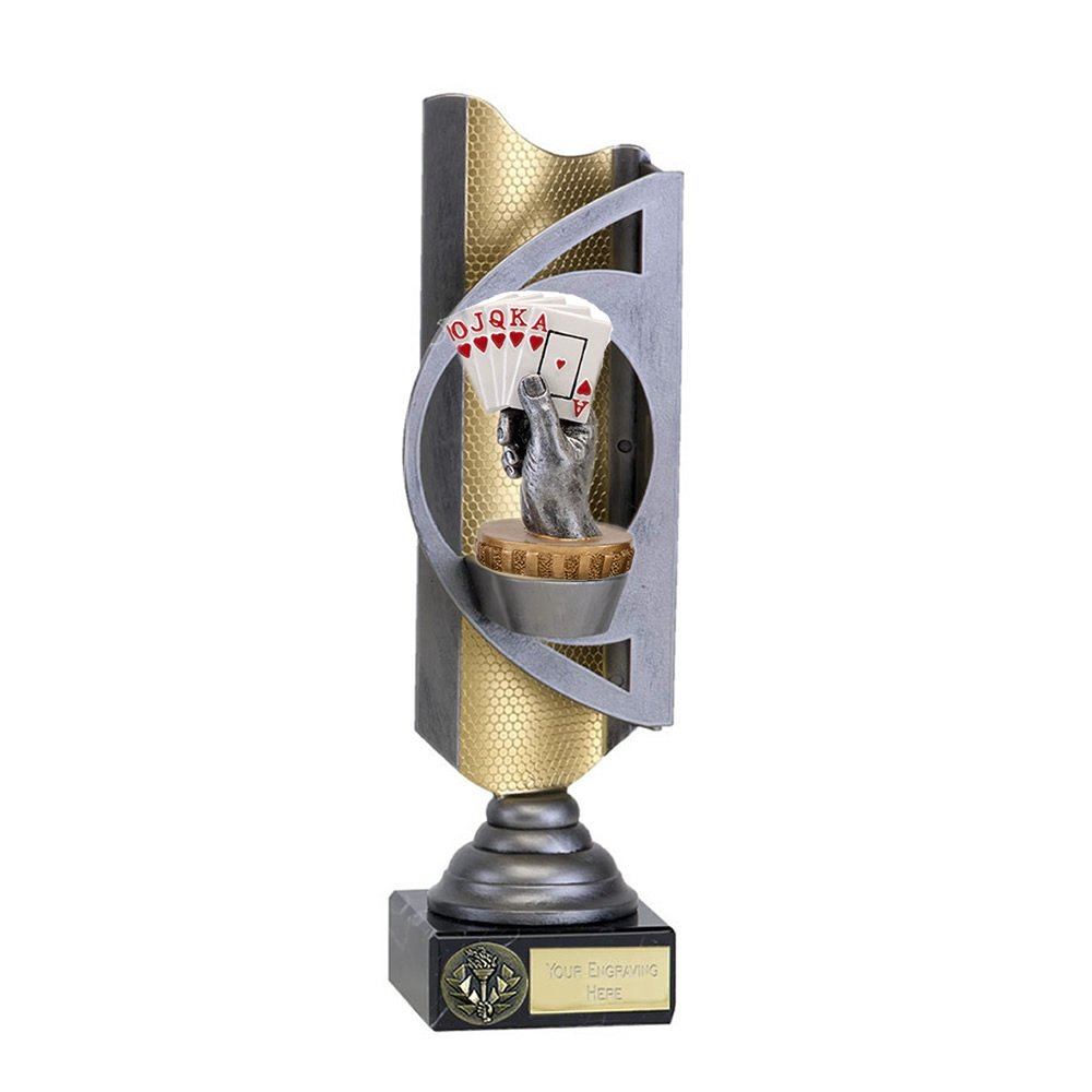 28cm Playing Cards Figure On Infinity Award