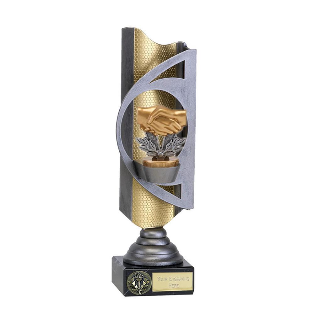 28cm Handshake Figure On Infinity Award