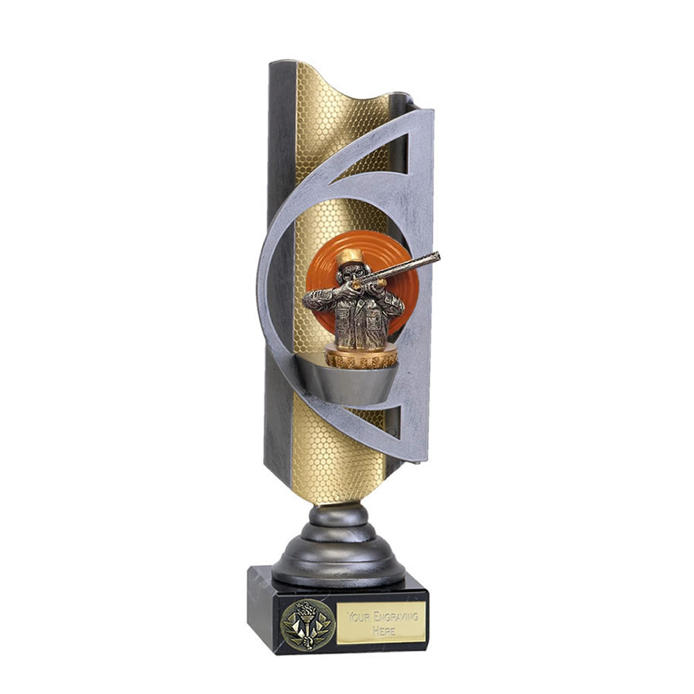 28cm Clay Shooting Figure on Shooting Infinity Award