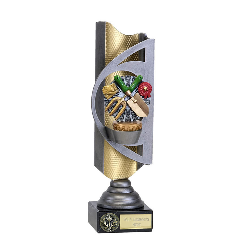 28cm Gardening Figure On Infinity Award