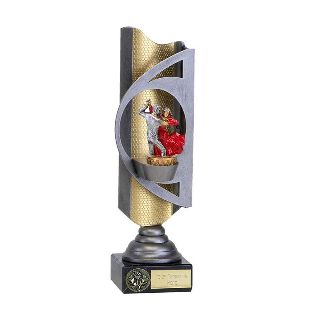 28cm Ballroom Dancing Figure On Dance Infinity Award