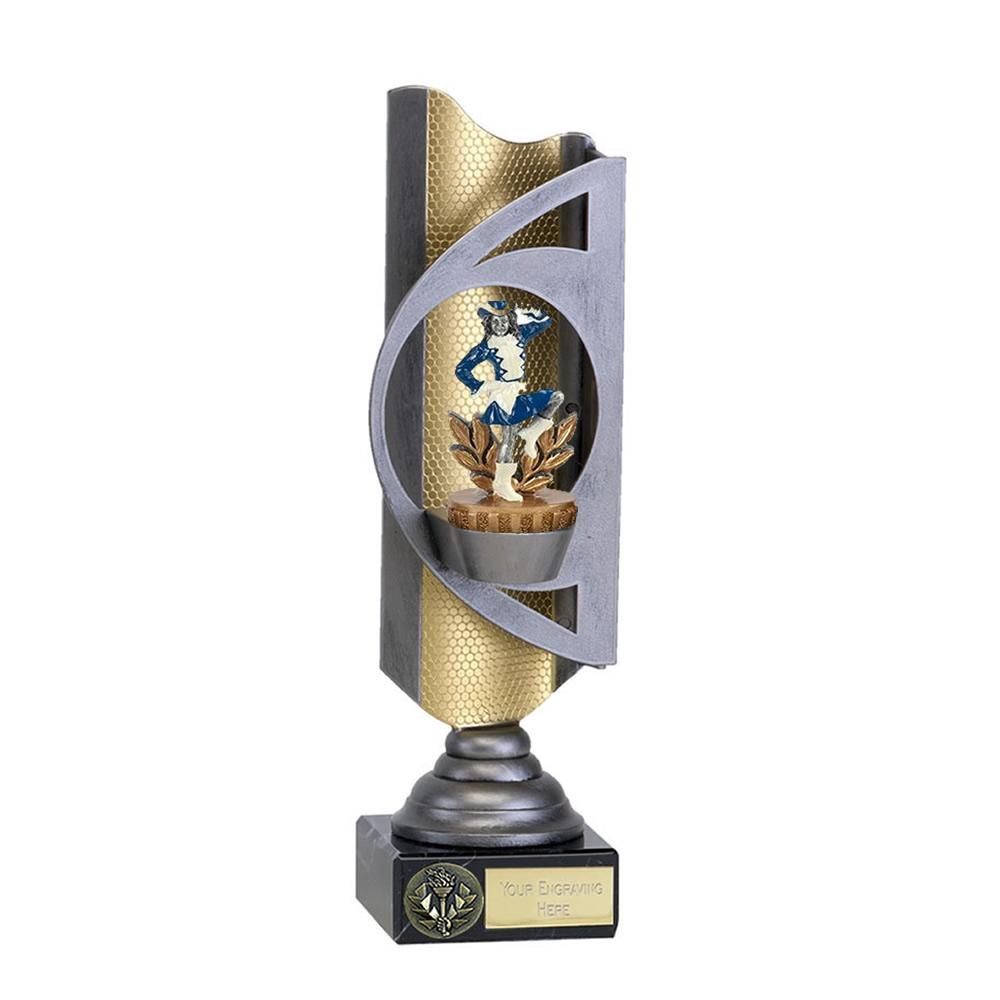 28cm Majorette Figure on Music Infinity Award