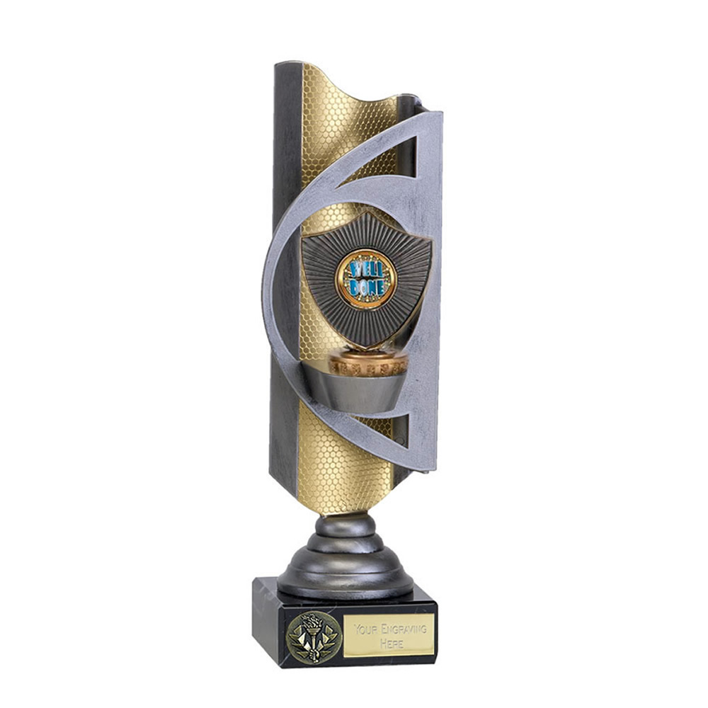 28cm Centre Shield Figure on Infinity Award