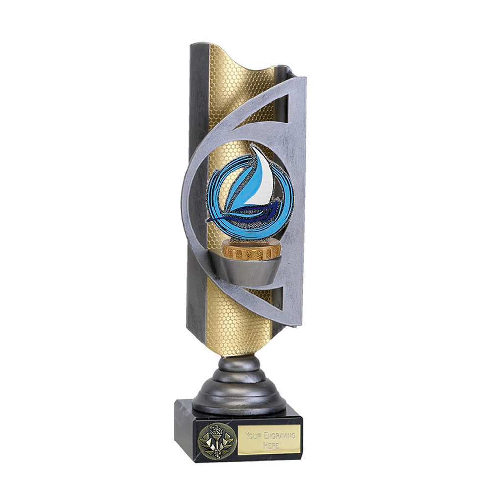 28cm Sailing Figure on Sailing Infinity Award
