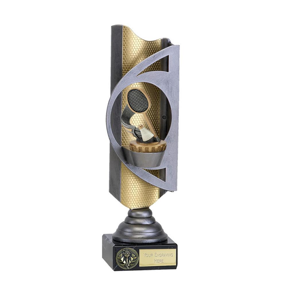 32cm Badminton Figure On Infinity Award