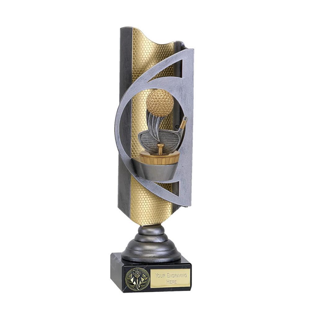 32cm Golf Figure On Golf Infinity Award