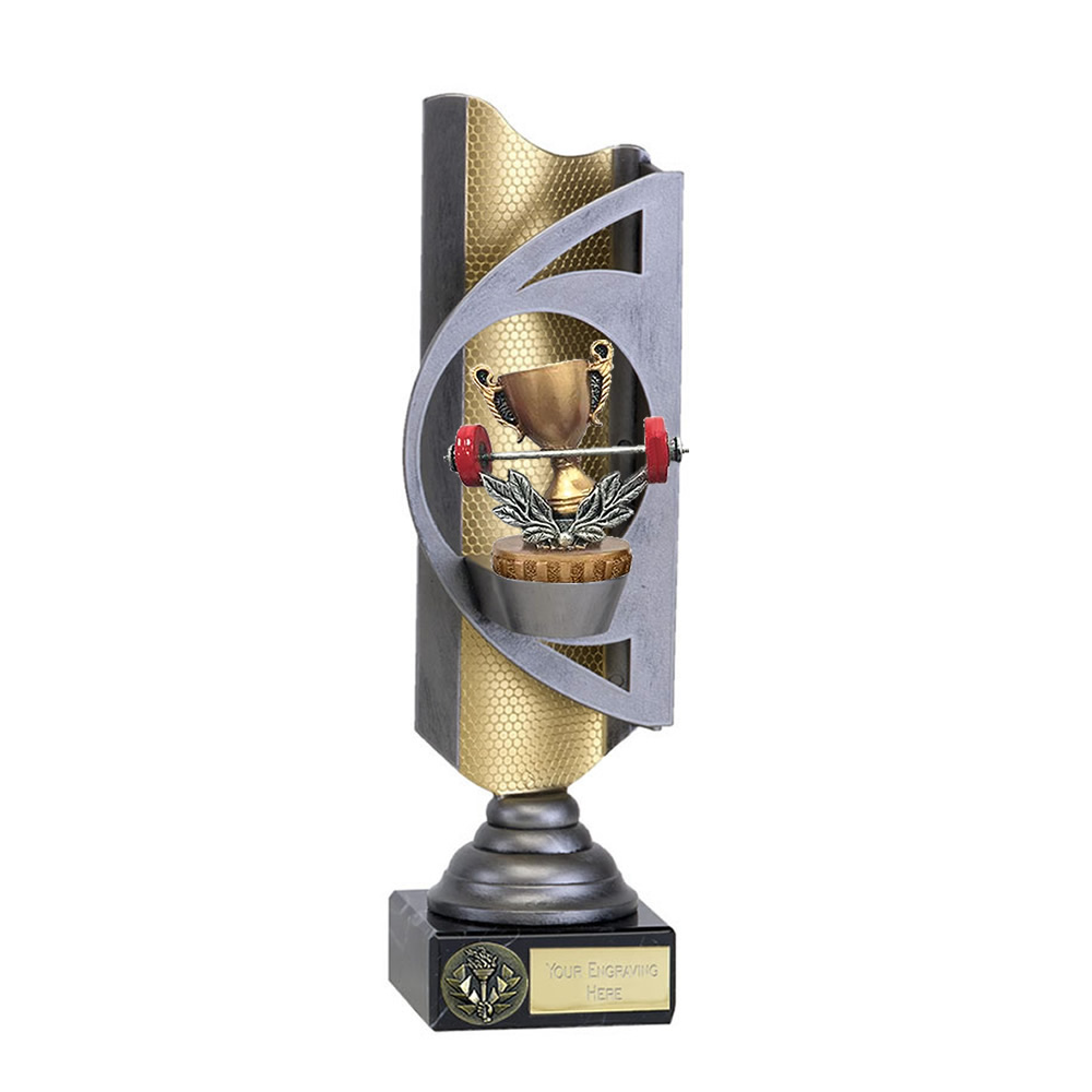 32cm Weightlifting Figure On Infinity Award
