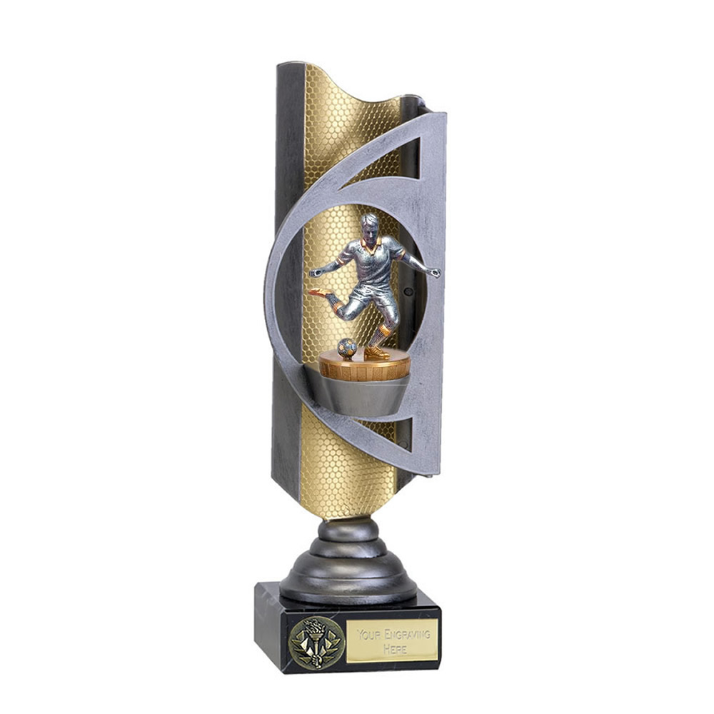 32cm Footballer Male Figure On Infinity Award