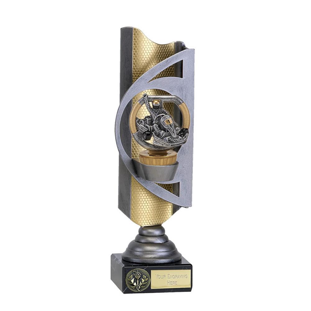 32cm Go-Kart Figure On Motorsports Infinity Award