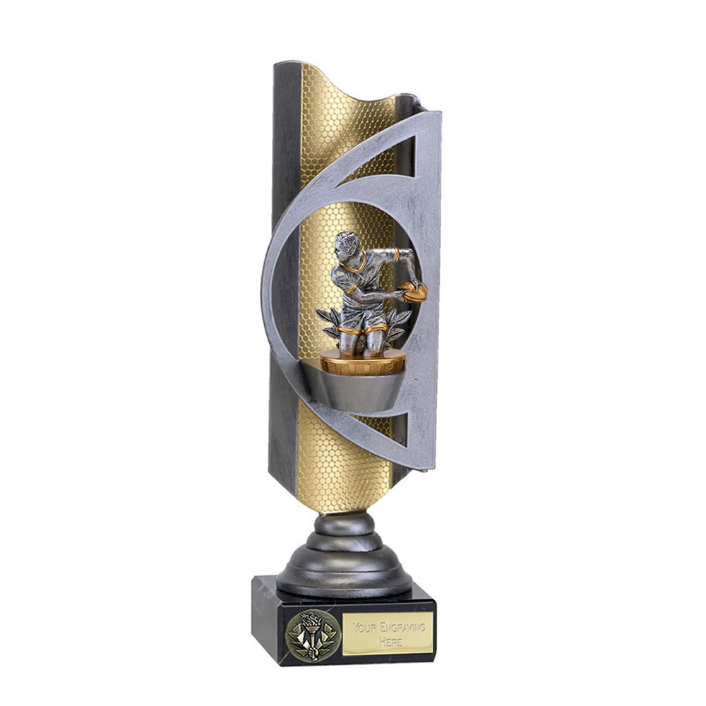 32cm Rugby Figure on Infinity Award