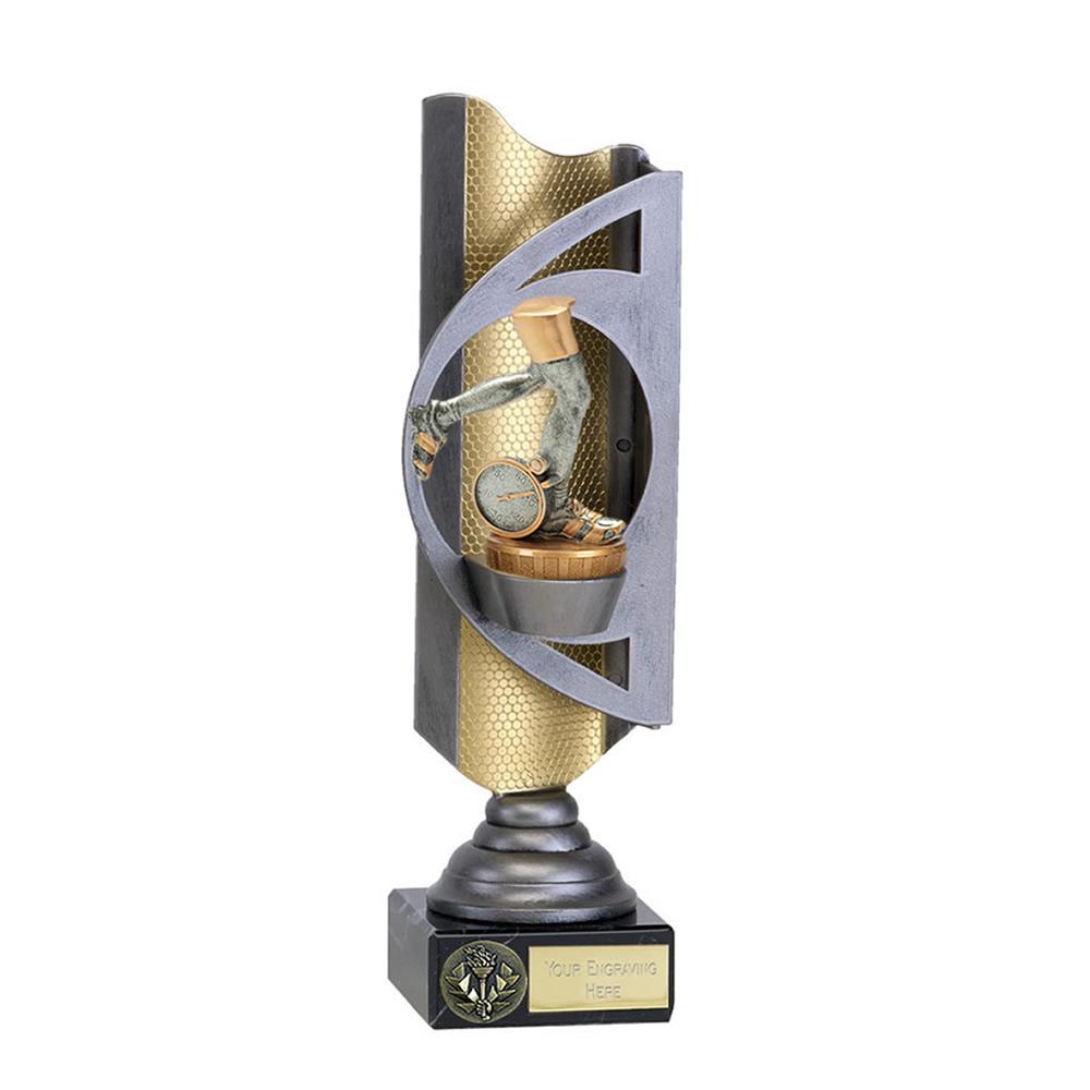 32cm Running Neutral Figure on Running Infinity Award