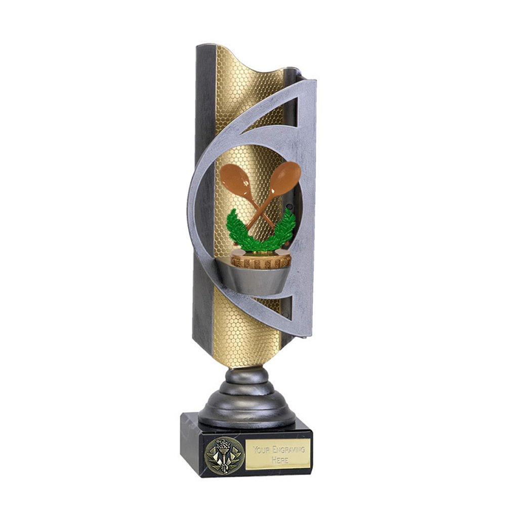 32cm Wooden Spoon Figure on Infinity Award
