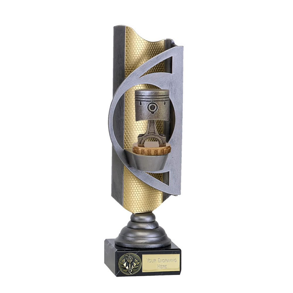 32cm Piston Figure on Motorsports Infinity Award