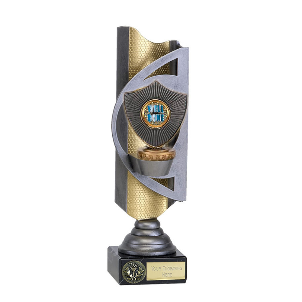 32cm Centre Shield Figure On Infinity Award