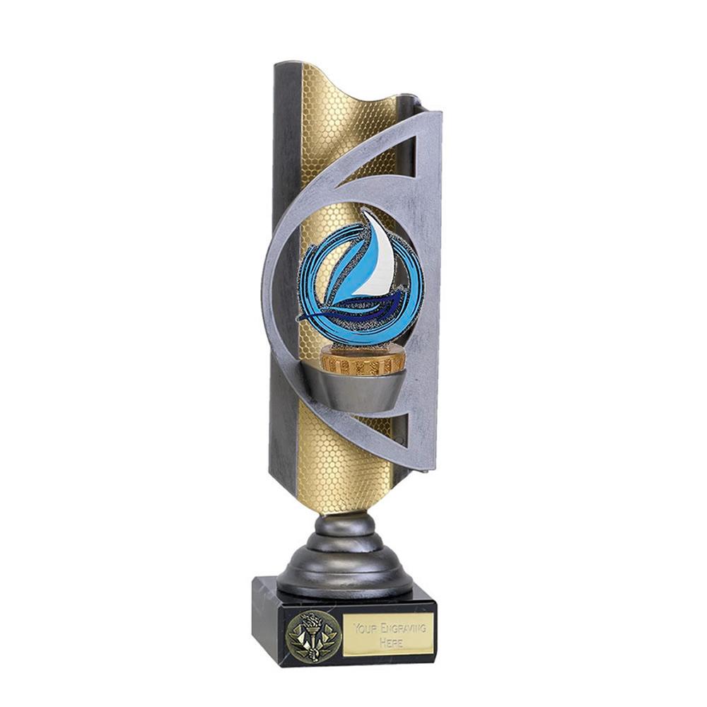 32cm Sailing Figure on Sailing Infinity Award
