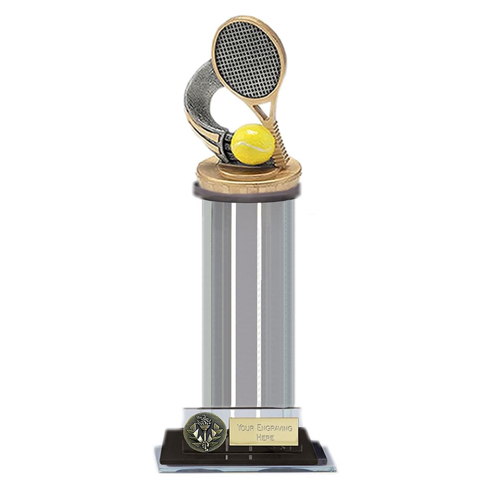 22cm Tennis Figure on Tennis Trafalgar Award