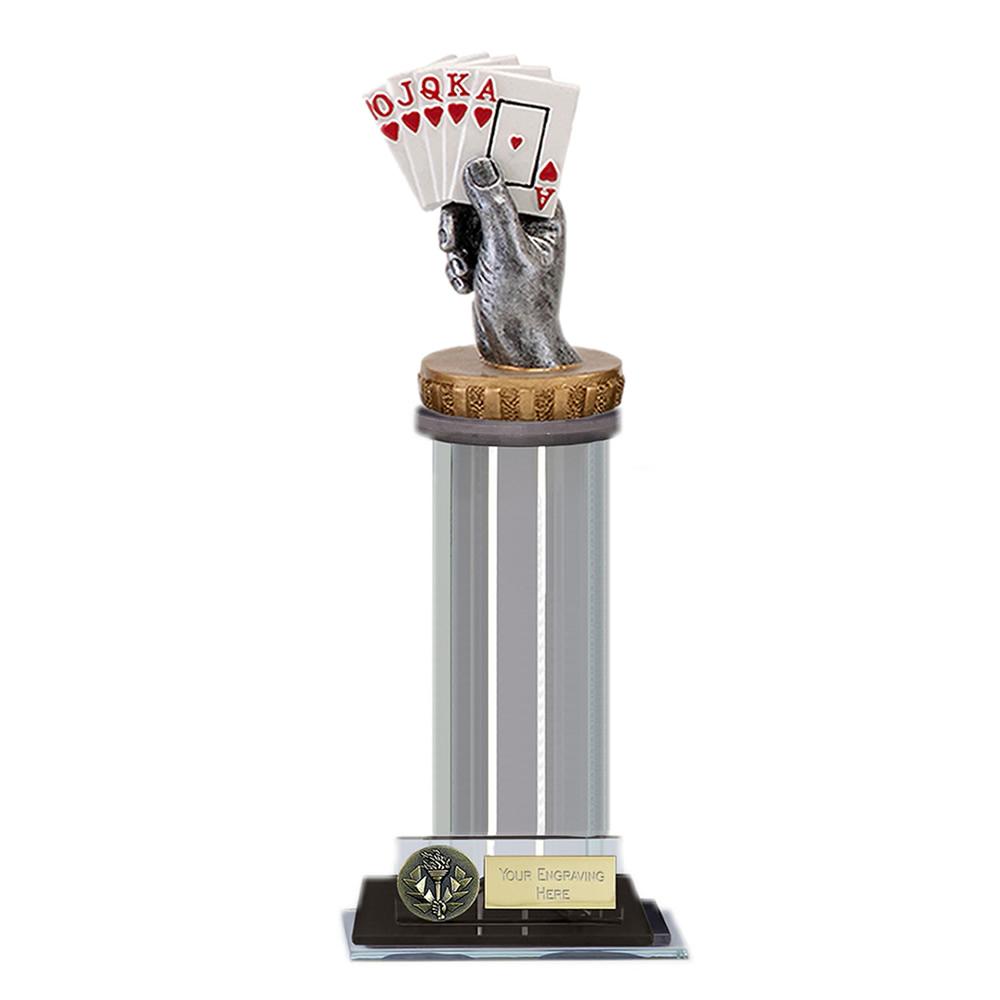 22cm Playing Cards Figure On Trafalgar Award