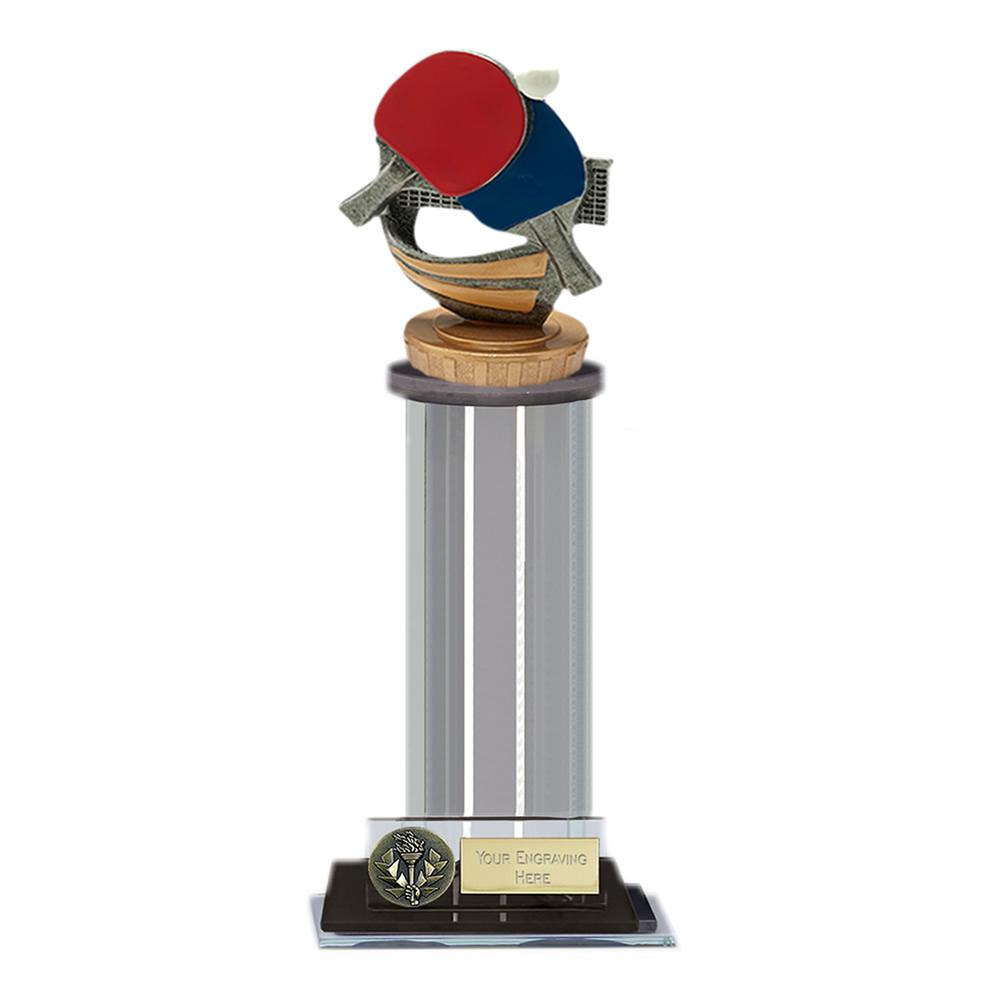 22cm Table Tennis Figure on Table Tennis Trafalgar Award